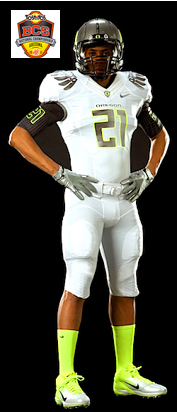 Oregon BCS uniform
