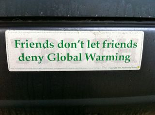 Friends don't let friends deny global warming