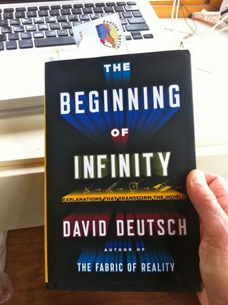 Beginning of Infinity book