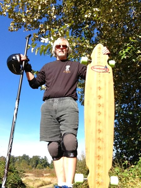 Brian with Norgeboard Kalai