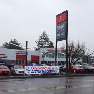 Shame on Withnell Dodge