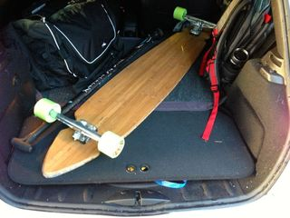 Norgeboard Kalai in Mini Cooper
