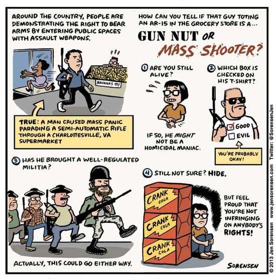 Gun nut or mass sho