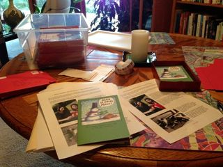 Christmas letter mailing