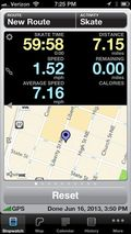 RunMeter screen shot