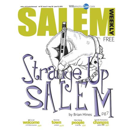 Strange Up Salem cover