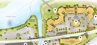 Pringle Square master plan west