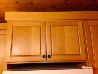 Cabinets with Seismolatch attached