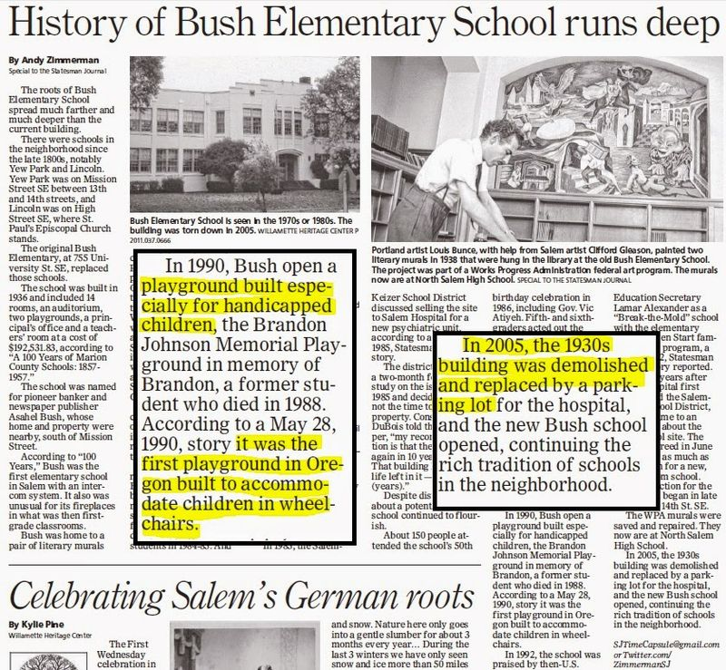 Bush School Article June 1