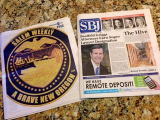 Salem Weekly and SBJ