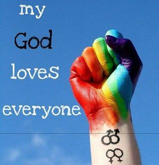 My god loves everyone