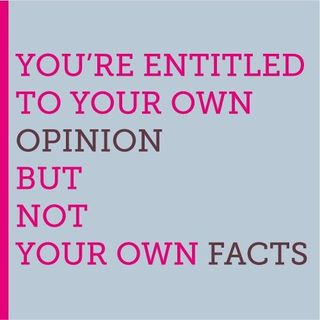 Opinion and facts