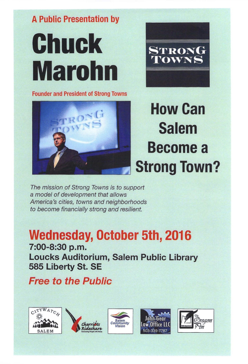 Strong Towns poster