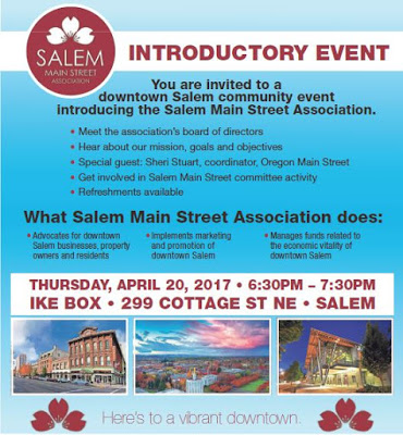 Salem Main Street Association April 20th