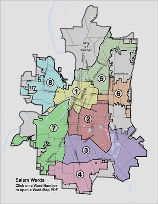 Salem Ward Map