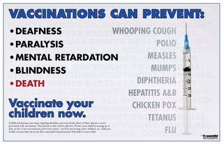 Vaccinations are effective