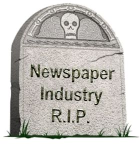 Newspaper death