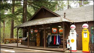 Camp Sherman store