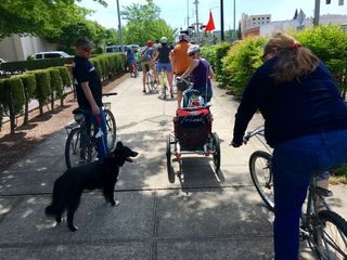 Salem Bike Boulevard Advocates ride 3