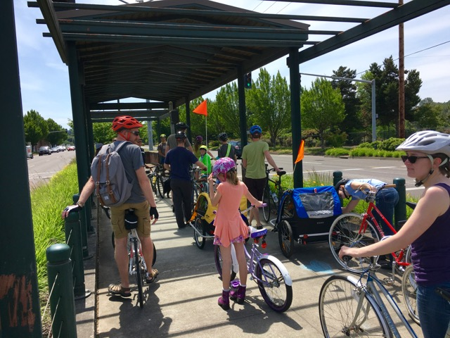 Salem Bike Boulevard Advocates ride 4