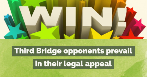 Third Bridge win