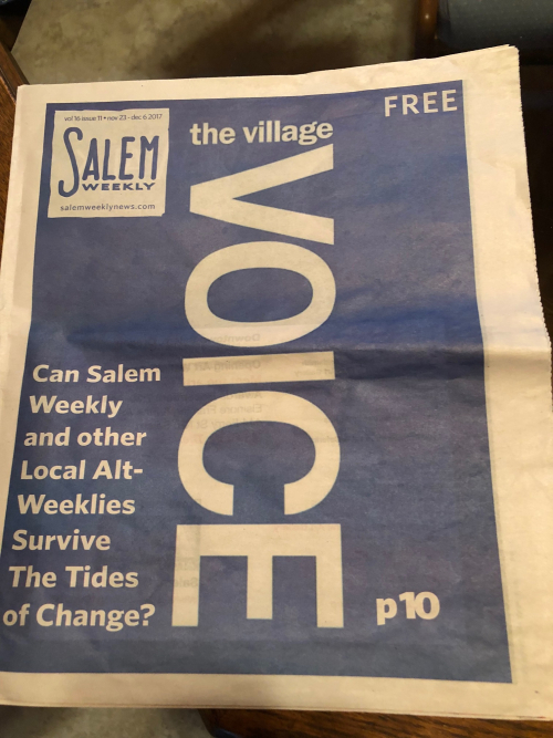 Salem Weekly cover