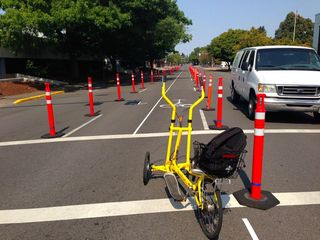 Salem Sunday Streets sample lane closure