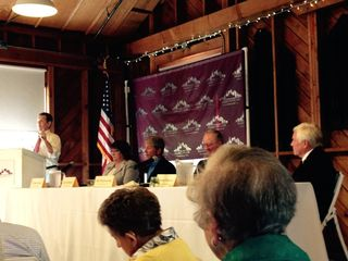 Salem City Club debate