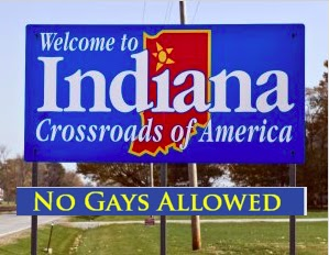 No gays allowed Indiana