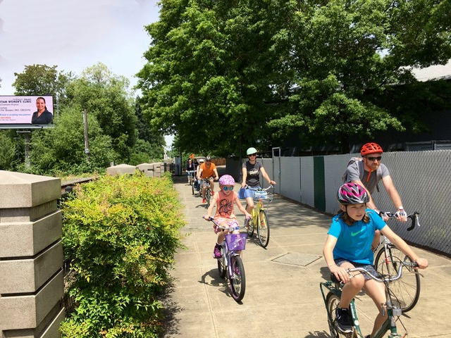 Salem Bike Boulevard Advocates ride 2
