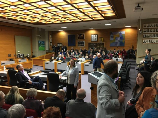 City council swearing in
