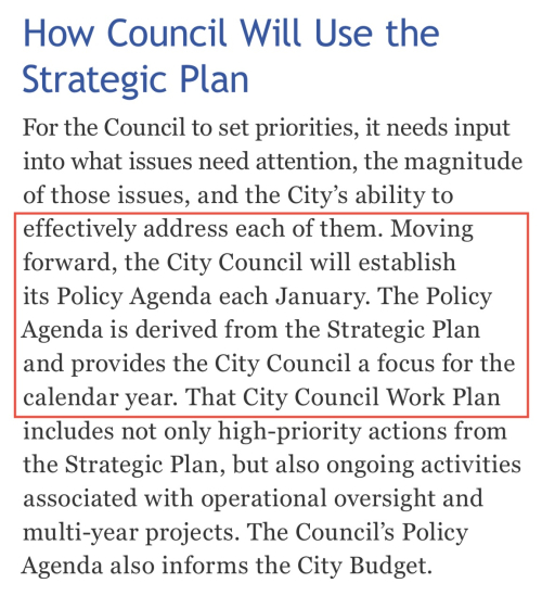 How Council Will Use