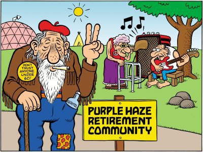 Hippie retirement community
