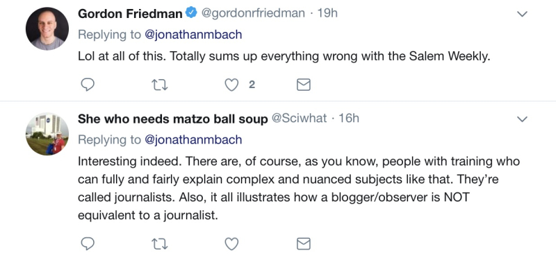 Gordon Friedman tweet