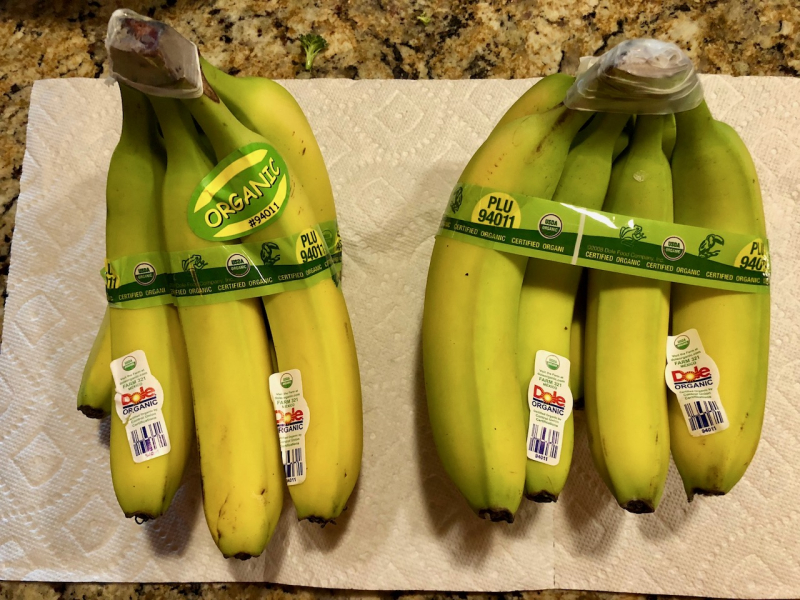Fred Meyer bananas