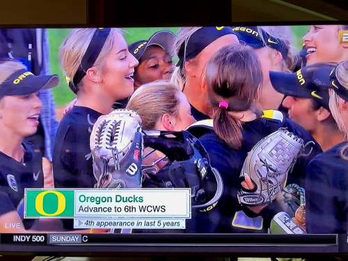 Ducks go to WCWS