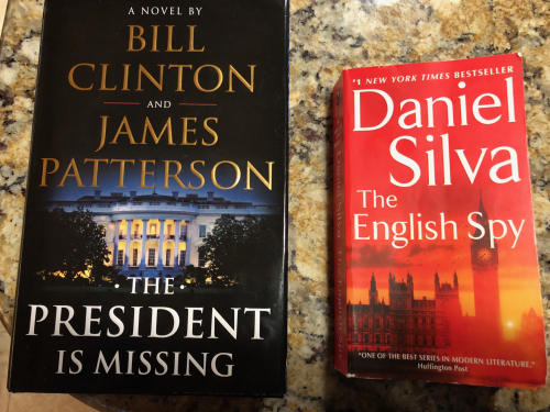 Clinton and Silva books