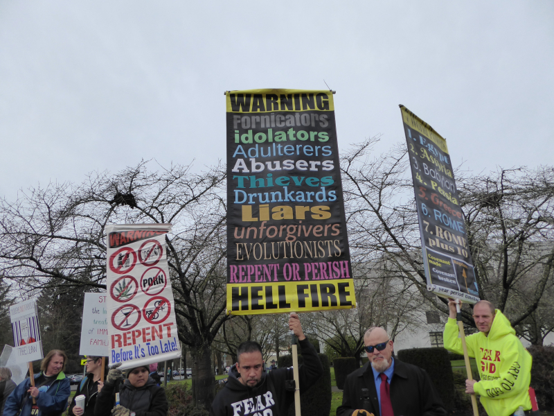Fundamentalist signs