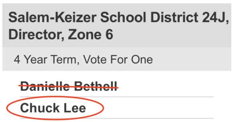 Vote for Lee