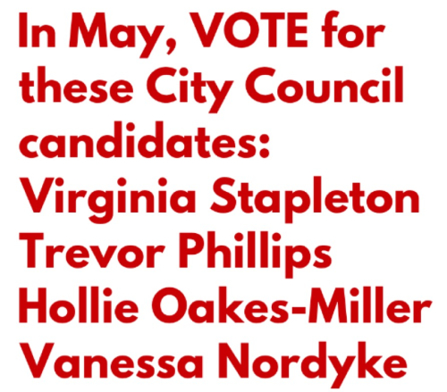 Vote for these candidates (1)