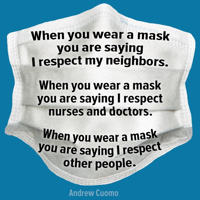 When you wear a mask