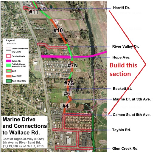 WSNA proposal for Marine Drive