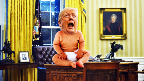 Toddler Trump