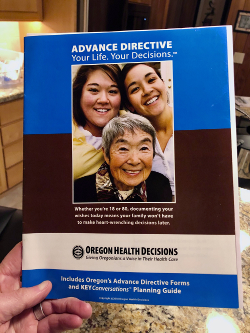 Oregon Advance Directive