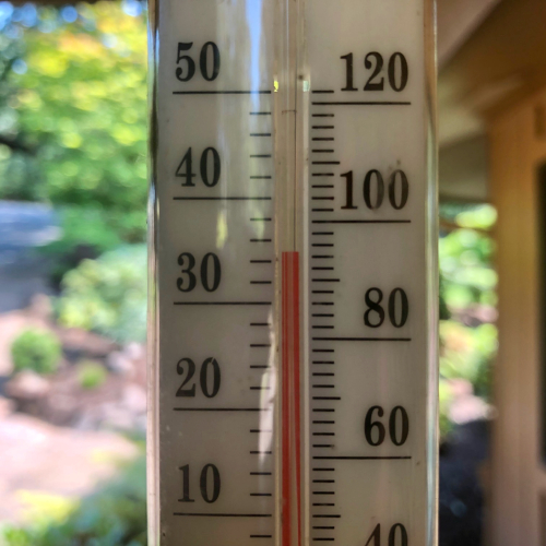Hot day in Oregon