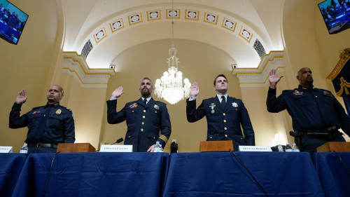 Police officers testify
