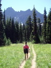 On_way_to_upper_canyon_creek_meadow