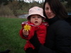 Evelyn_offering_flower_and_celeste