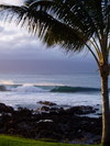 Napili_surf_at_sunset